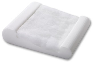 Travel-sized pillow with all the same qualities of the regular Pillo-Pedic.