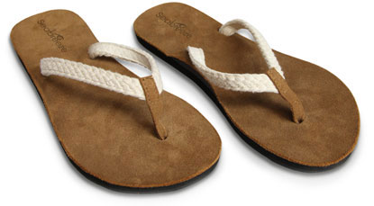 Seabreeze orthotic flip flop