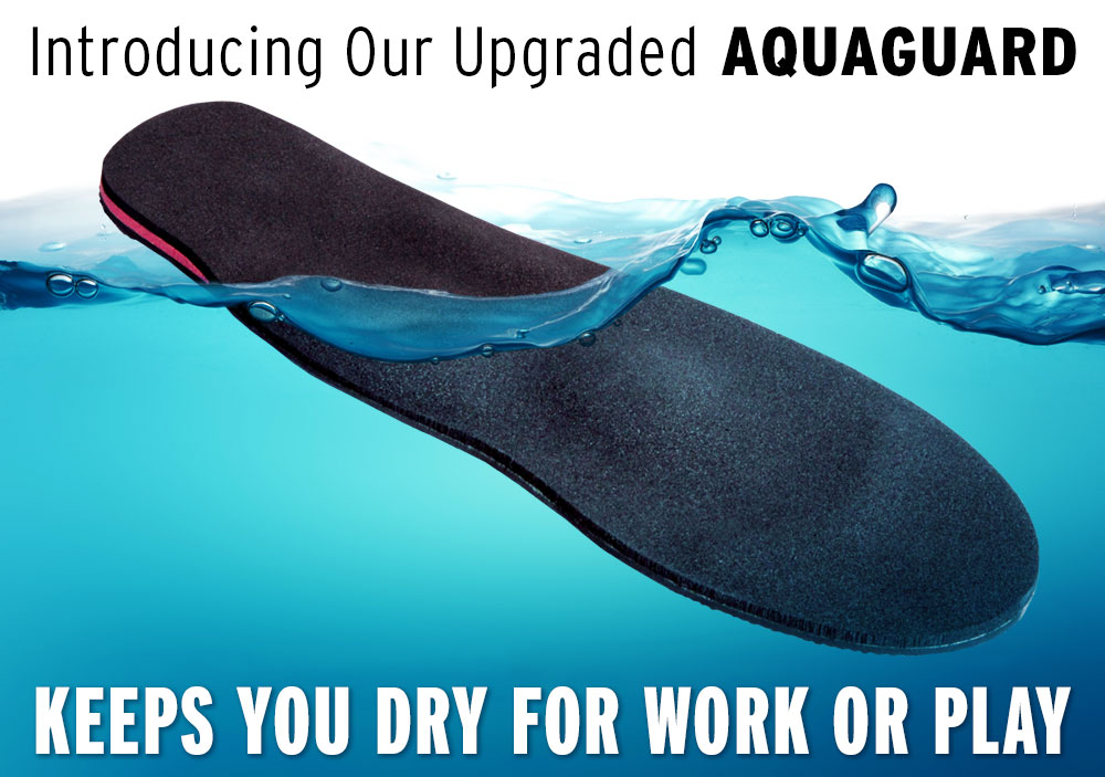 waterproof aquaguard orthotics