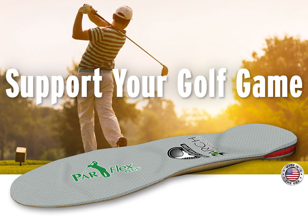 parflex plus golf orthotics